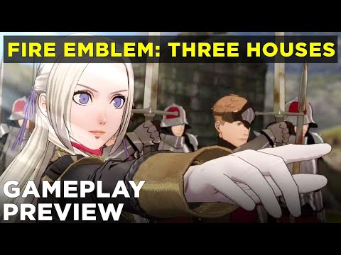Fire Emblem: Three Houses Battle Gameplay Preview