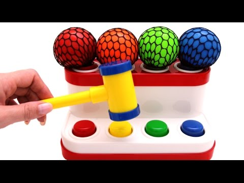 Thumbnail: Learn Colors for Children Squishy Ball & Pop Up Pals for Kids RL