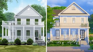 I tried to recreate a real house in The Sims 4