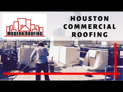 Houston Commercial Roofing and Metal Roofing