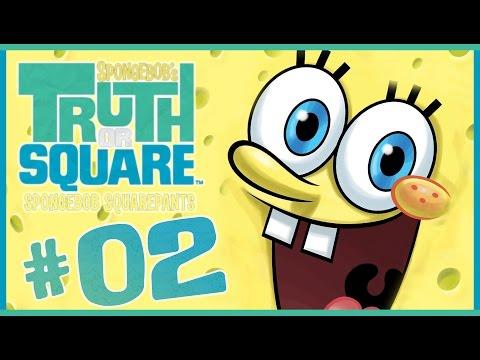 SpongeBob Truth or Square Walkthrough Part 2 (Wii, X360, PSP) ~~ Level 2 ~~