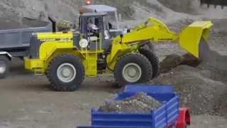RC CONSTRUCTION XL,BIG RC MACHINES AT WORK