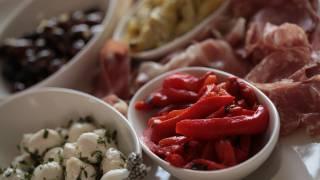 Antipasto Platter Appetizer Recipe || Kin Eats