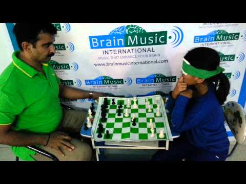 Midbrain Activation- Brainmusic International Khushi Playing Chess