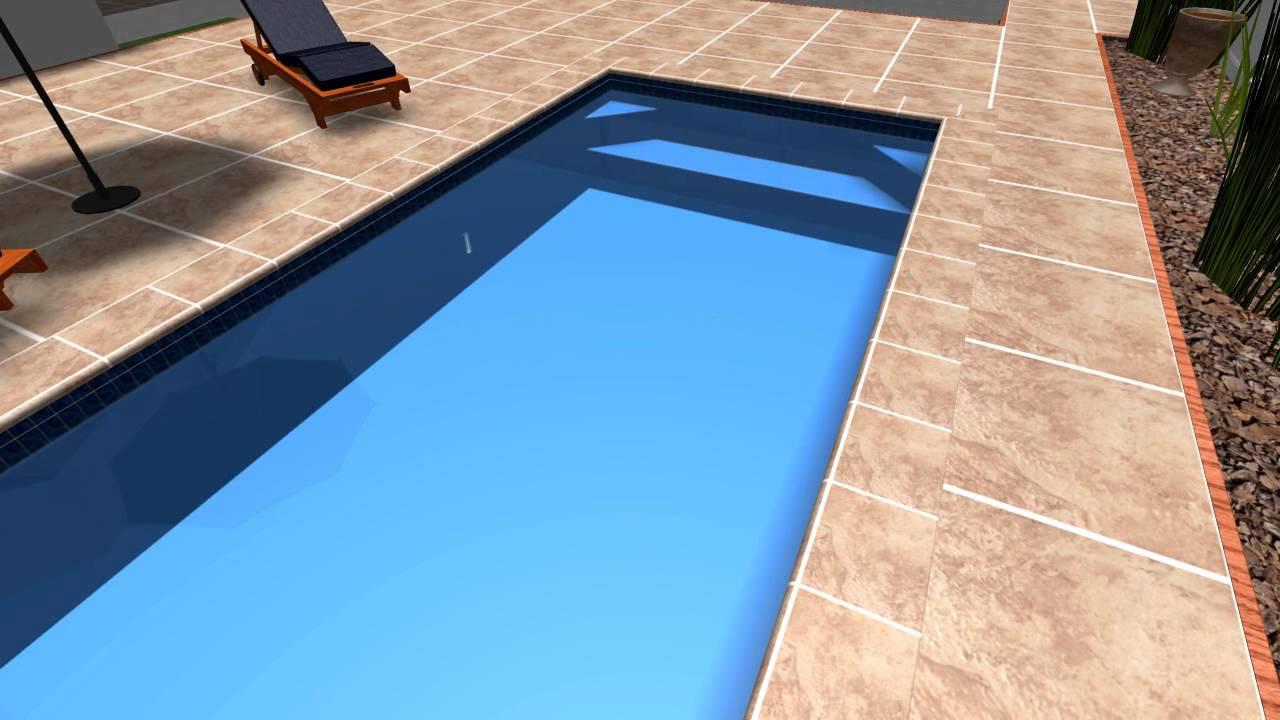 Advance Pools New Melody 6 X 3 Fibreglass Swimming Pool Youtube