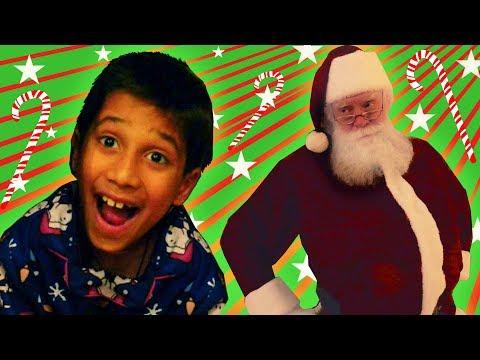 Johny Johny Yes Santa | Christmas Nursery Rhyme | WigglePop