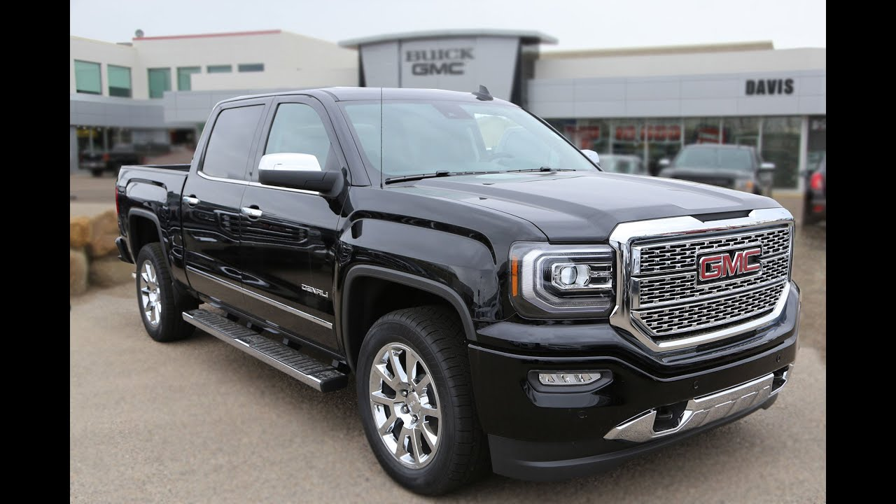 brand new 2016 gmc sierra 1500 denali for sale in medicine hat ab youtube. Black Bedroom Furniture Sets. Home Design Ideas