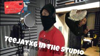 How teejayx6 records his songs ( dark web )