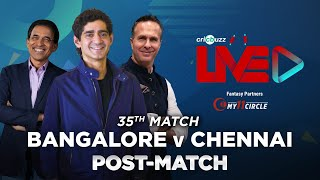 Cricbuzz Live: Match 35, Bangalore v Chennai,Post-match show