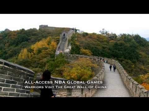 Stephen Curry and the GS Warriors Visit the Great Wall of China: All-Access NBA Global Games
