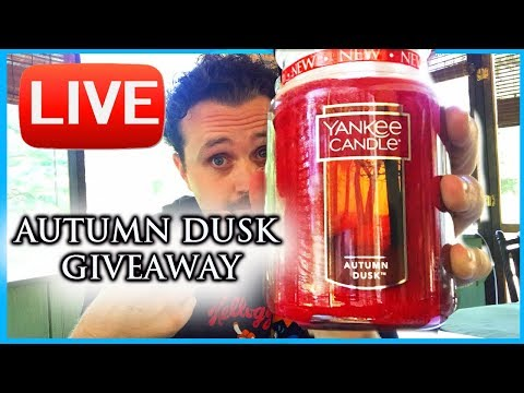 LIVE - Yankee Candle GIVEAWAY - Last Chance - Quick Updates - Yankee Candle Fall 2017