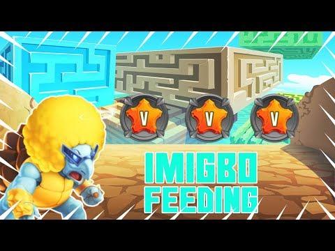 Monster Legends | Imigbo Level 1-100 Skills & Combat! Voltaik's Sidekick C:
