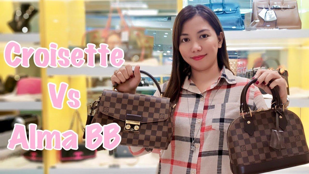 753b5aa05601 Comparison between LV Alma BB   Croisette Bag ❤ Bag Talks by Anna ...