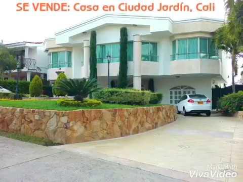 Se vende casa en condominio en ciudad jard n cali for Casas en ciudad jardin