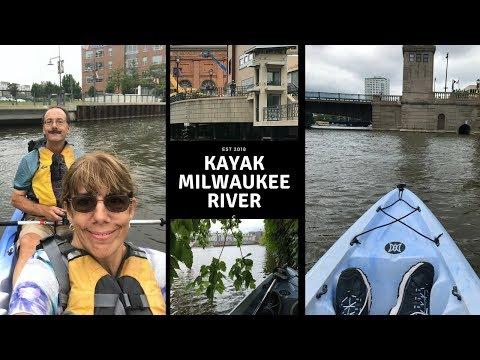 Kayaking Milwaukee River ~ Clearwater Outdoor Kayak Rental