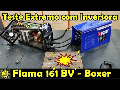 Teste Extremo com a Inversora Flama 161 BV