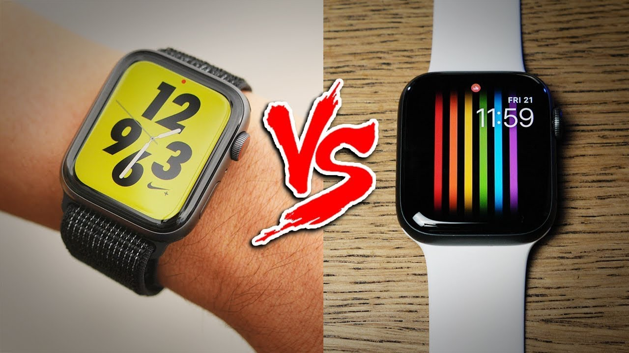 Apple Watch Nike+ vs Series 4. Which one's better?