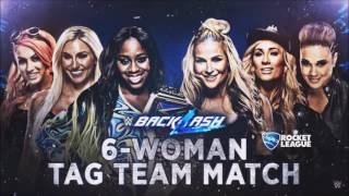 WWE Backlash 2017: Naomi, Charlotte Flair & Becky Lynch vs. Natalya, Carmella & Tamina - Match Card