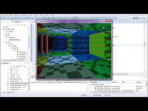 #10 Java Classical 3D Rendering Tutorial : Level Loading
