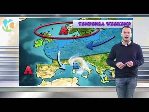 Weekend di maltempo sull'Italia: vediamo la tendenza