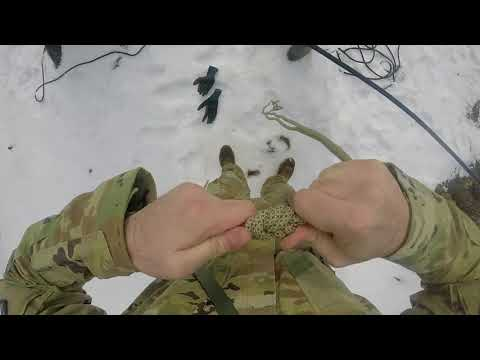 ARMY MOUNTAIN WARFARE SCHOOL KNOT GUIDE