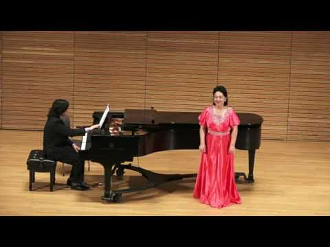 """Music and Language: A Recital of American, Chinese and European Songs"" by Liyan Sun and Friends"