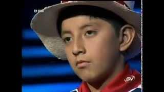 Santiago Acuña  ecuador Tiene Talento/  Musica ecuatoriana