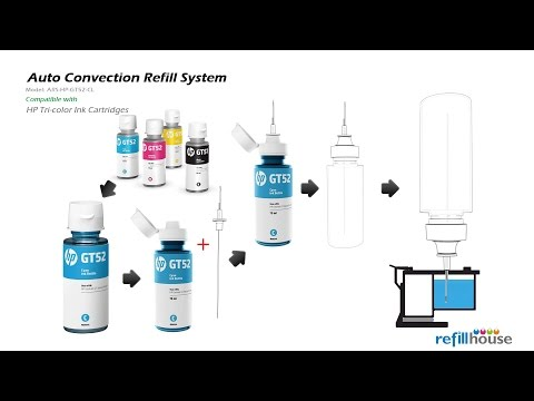 hp 951xl refill instructions