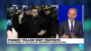 Will arrest of Yellow Vests leader provoke further unrest?