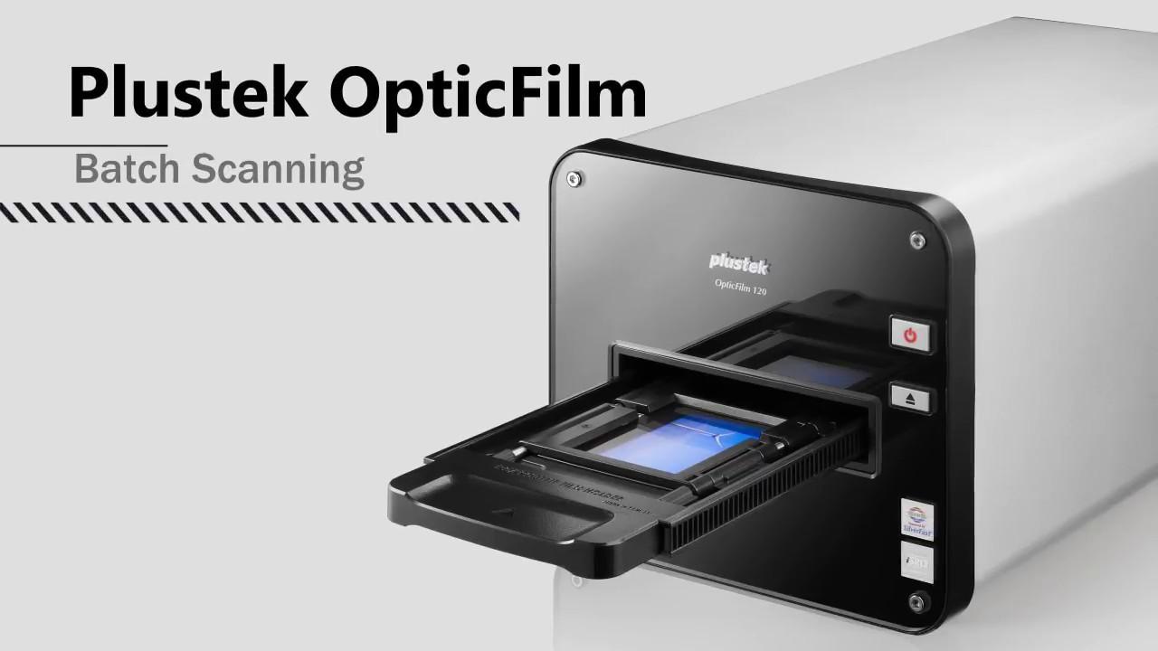Plustek OpticFilm 120 Batch Scanning