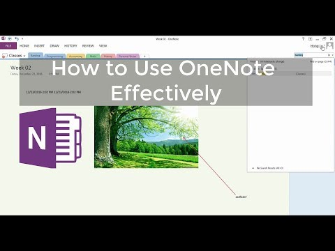 How to Use Microsoft OneNote Effectively   Tutorial - 2017