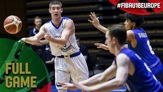 Greece v Great Britain - Full Game - Semi-Final - FIBA U16 European Championship 2017 - DIV B