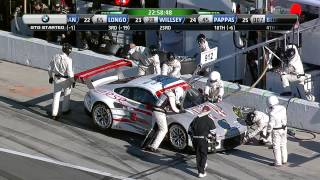 Repeat youtube video Rolex 24 At Daytona Race Broadcast - Part 1