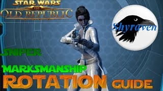 Rotation Sniper Marksmanship SWTOR (quick and easy)