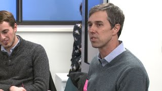 'There's Not an Emergency at the Border,' Potential Presidential Candidate Beto O'Rourke Says Beto O'Rourke was in Wisconsin on Friday and spoke with 20 MATC students as part of his nationwide listening tour. .I'm here specifically in Milwaukee today ..., From YouTubeVideos