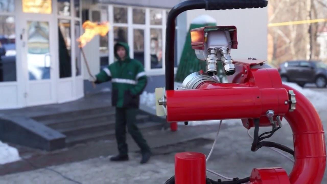 Фото обозначение пожарного лафета