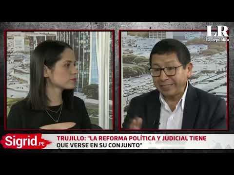 Ministro Edmer Trujillo en La Republica Tv