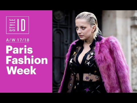 Style ID: Paris Fashion Week A/W 17/18
