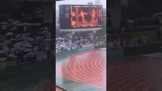 鹿児島 鴨池陸上競技場💦とある大会