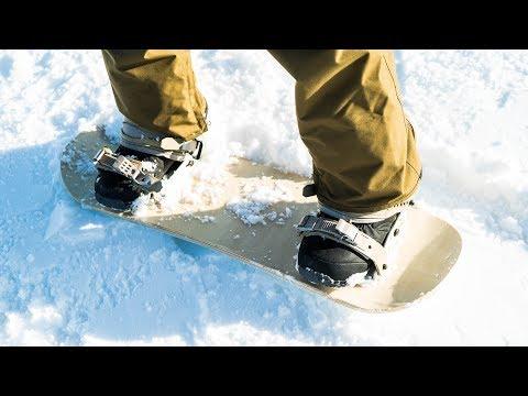 CUSTOM MADE MINI SNOWBOARD (FIRST TEST)