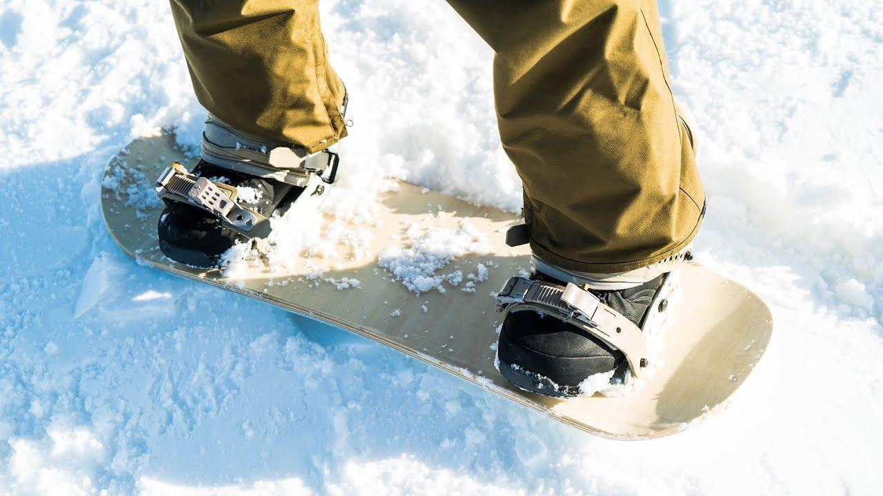 Custom Made Mini Snowboard First Test Youtube