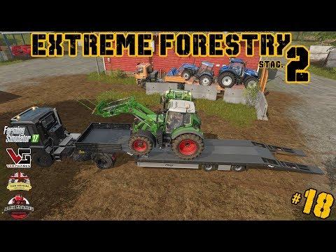 EXTREME FORESTRY STAGIONE 2 | #18 ep. - UN TRISTE GIORNO - FARMING SIMULATOR 17