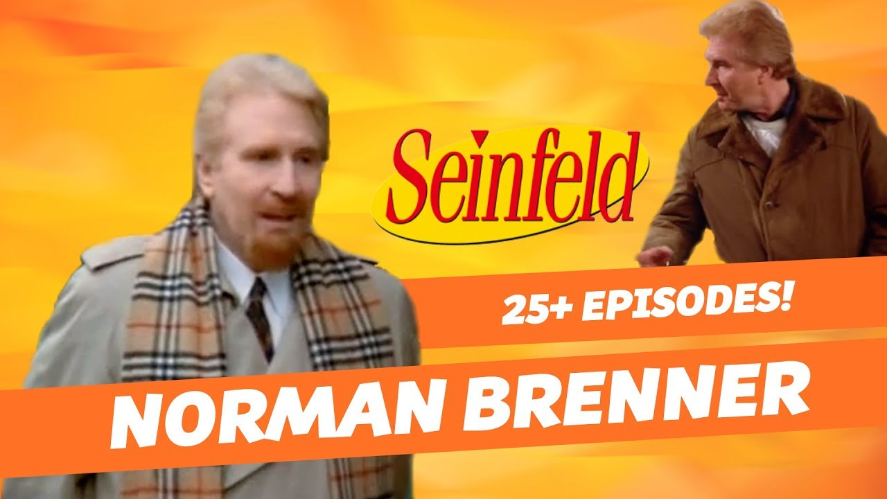 Seinfeld S Recurring Extra Norman Brenner Seinfeld Youtube