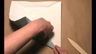 Hướng dẫn gấp hộp khăn giấy