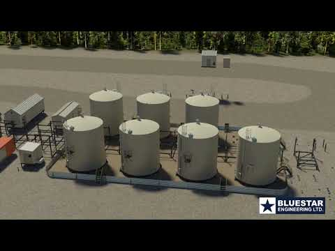 Oil Battery 3   Bluestar Engineering