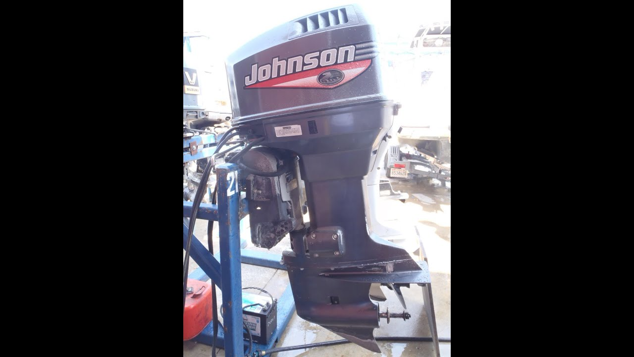 6m3388 used 1999 johnson j90pleeb 90hp 2 stroke outboard boat motor rh youtube com 1998 johnson 115 outboard manual Johnson 115 HP Outboard Motor