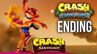 Crash Bandicoot N.Sane Trilogy CRASH BANDICOOT 1 ENDING Gameplay Walkthrough Part 5
