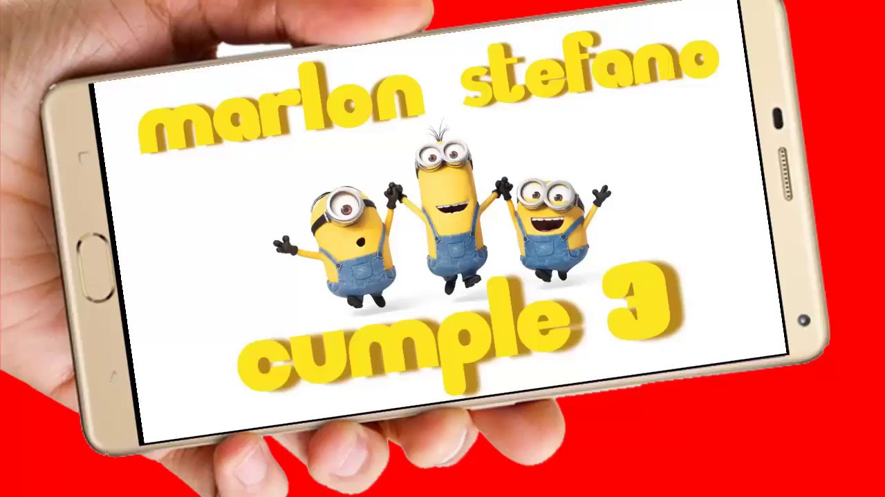 Minions Video De Invitación O Cumpleaños De Para Whatsapp O Redes Sociales Aquisevendeccs