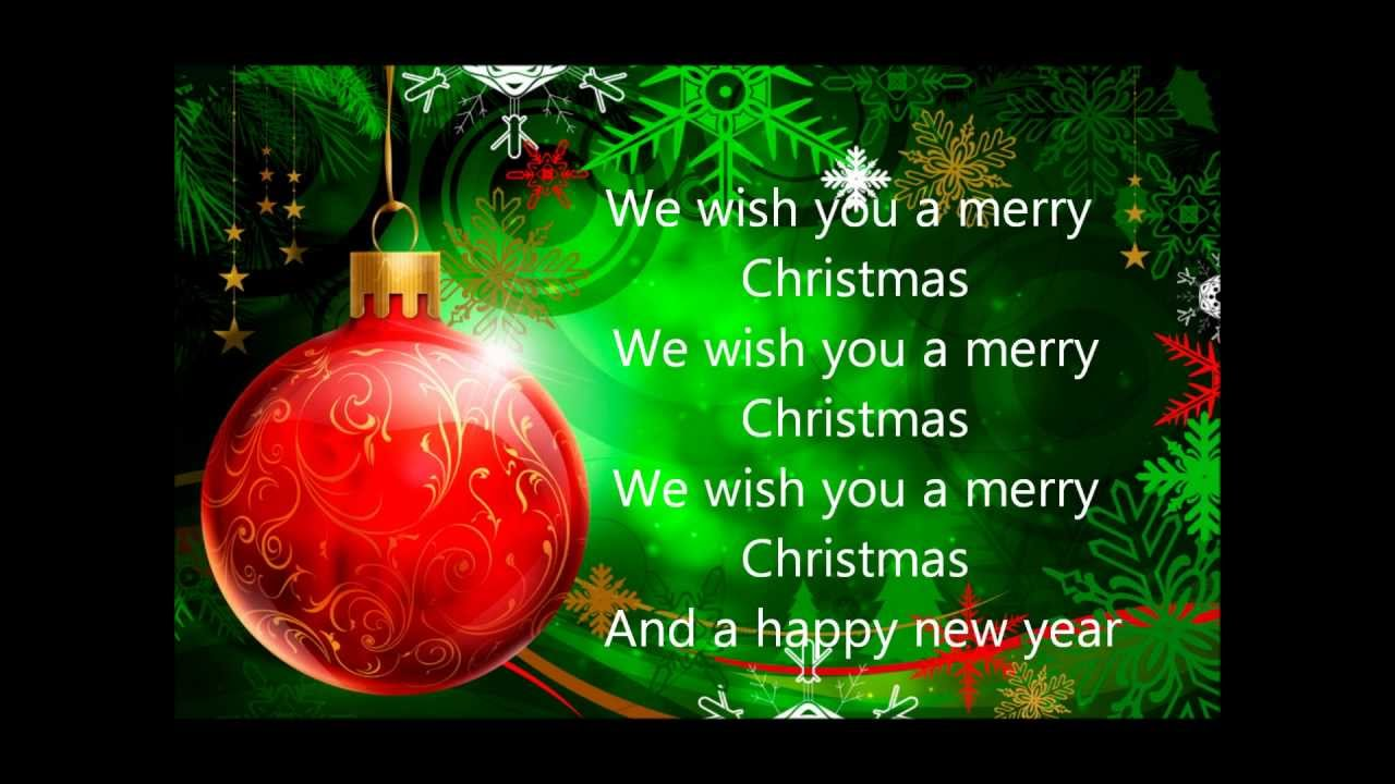 enya we wish you a merry christmas lyrics youtube - We Wish You Merry Christmas