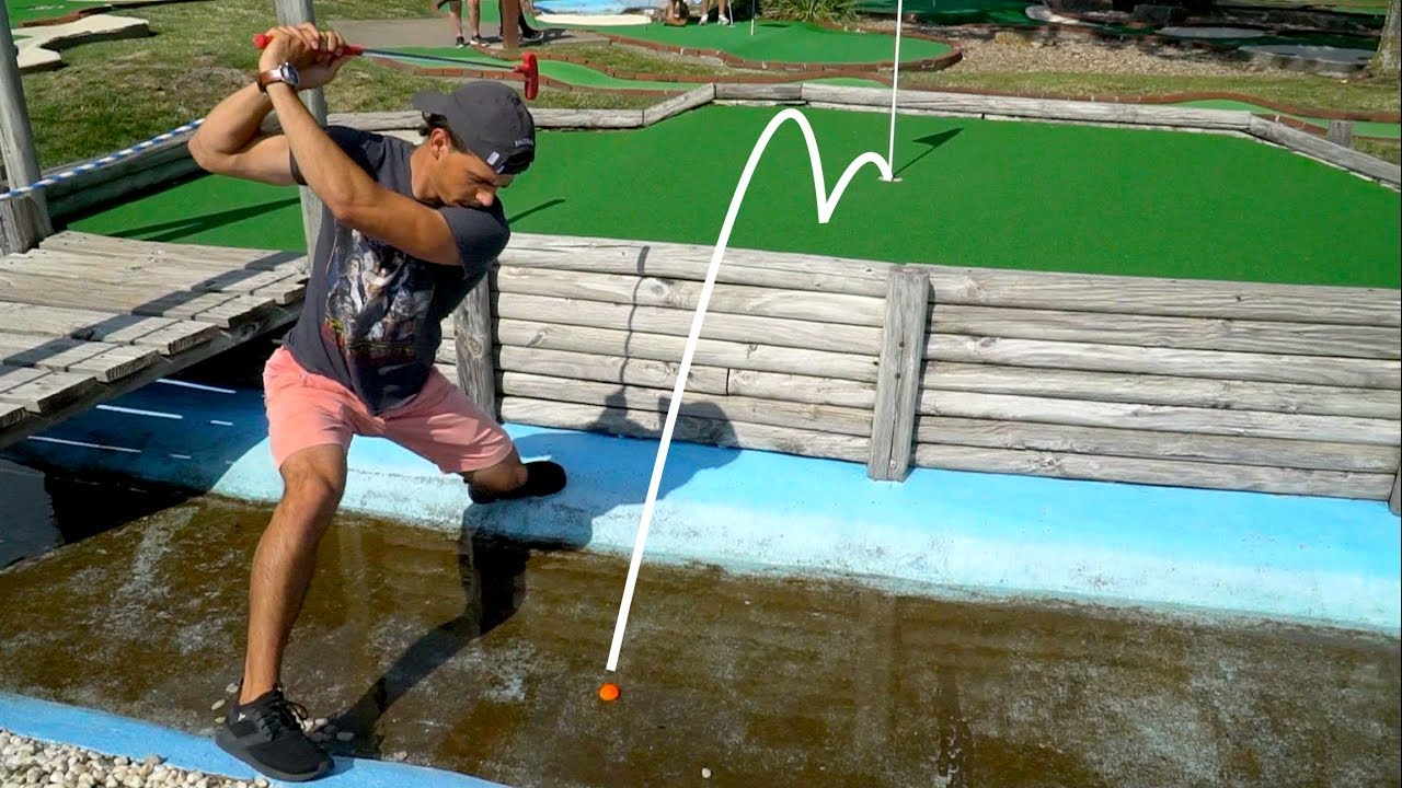 Epic Mini Golf Battle For $100